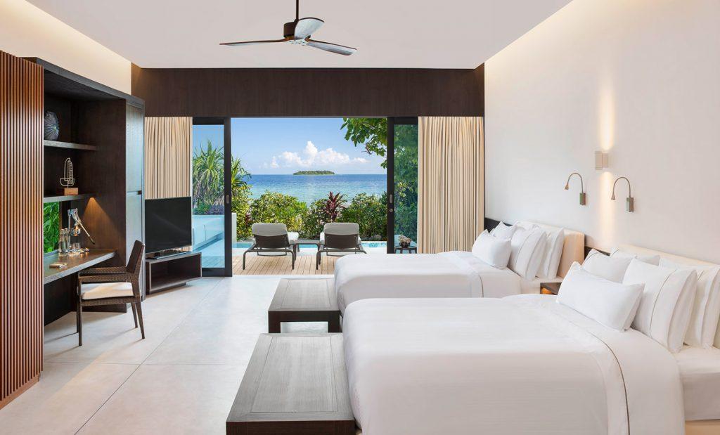 westin maldives resort accommodation