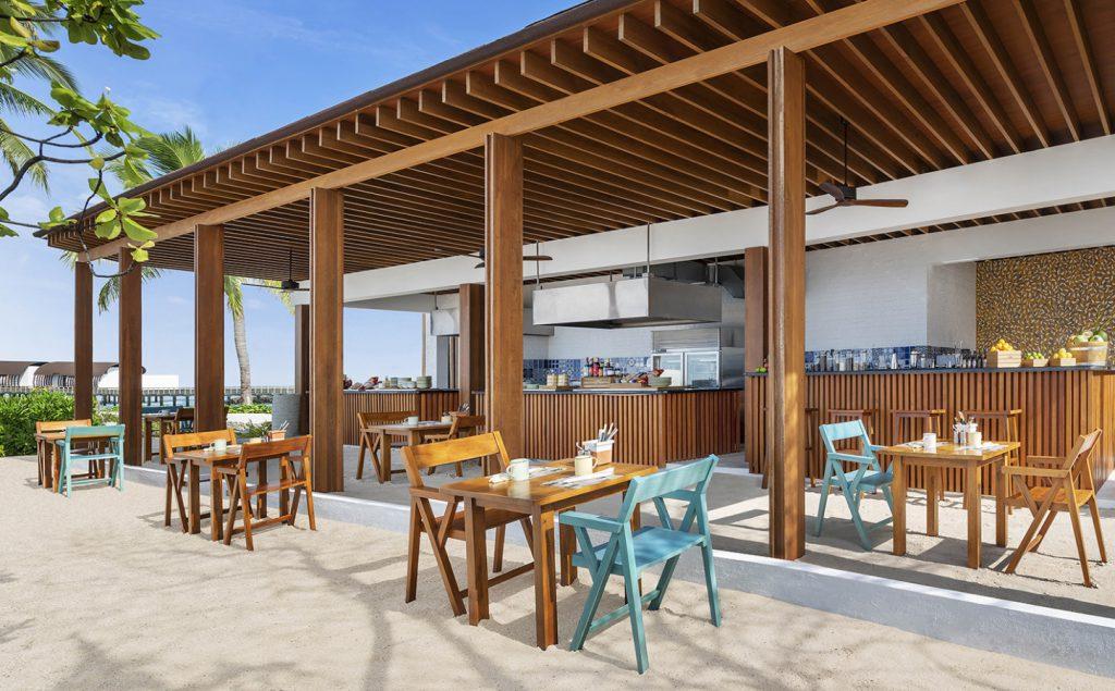 westin maldives dining