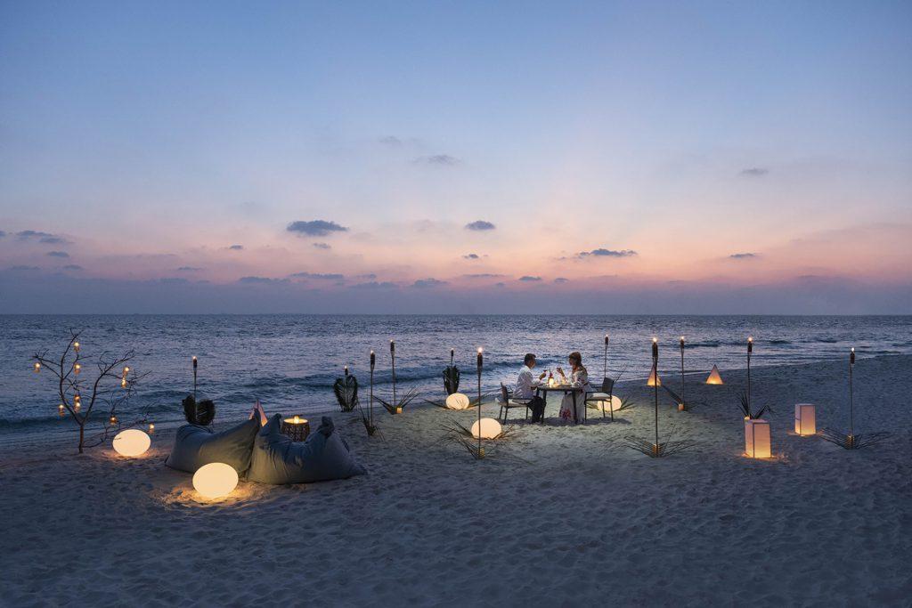 unique dining experience westin maldives
